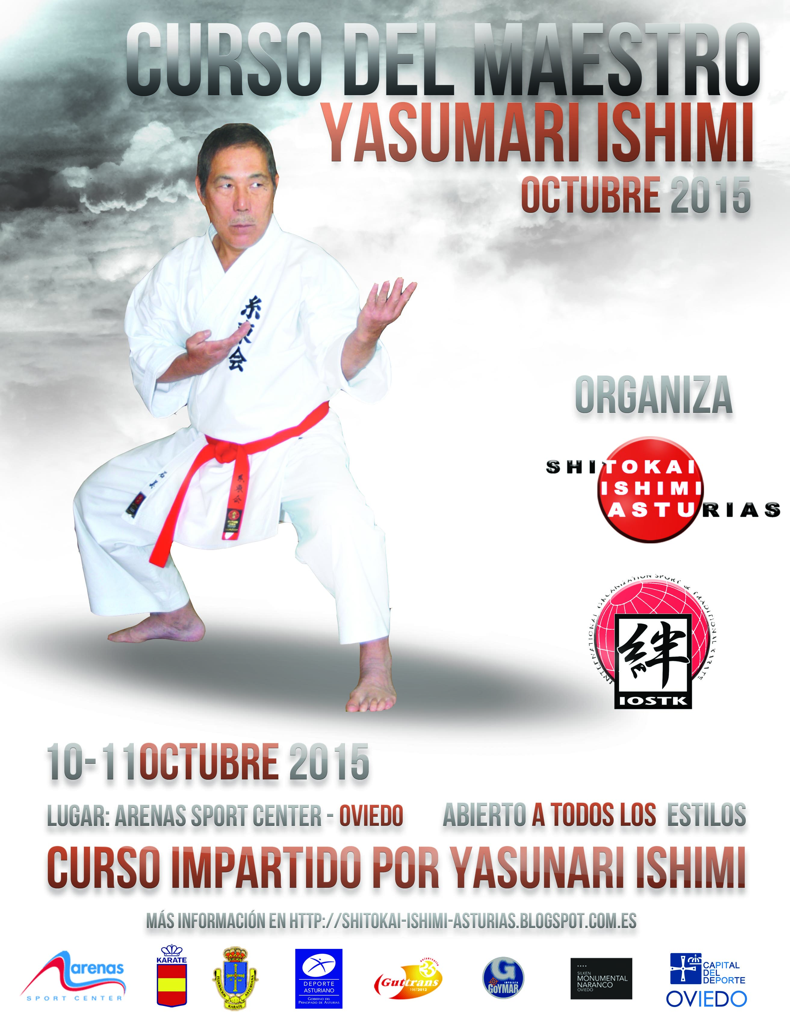 Cartel Curso Ishimi Octubre