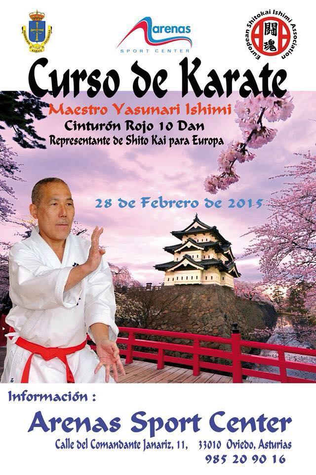 cartel curso Ishimi Sensei