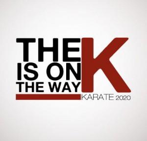 logo karate olimpico 2020