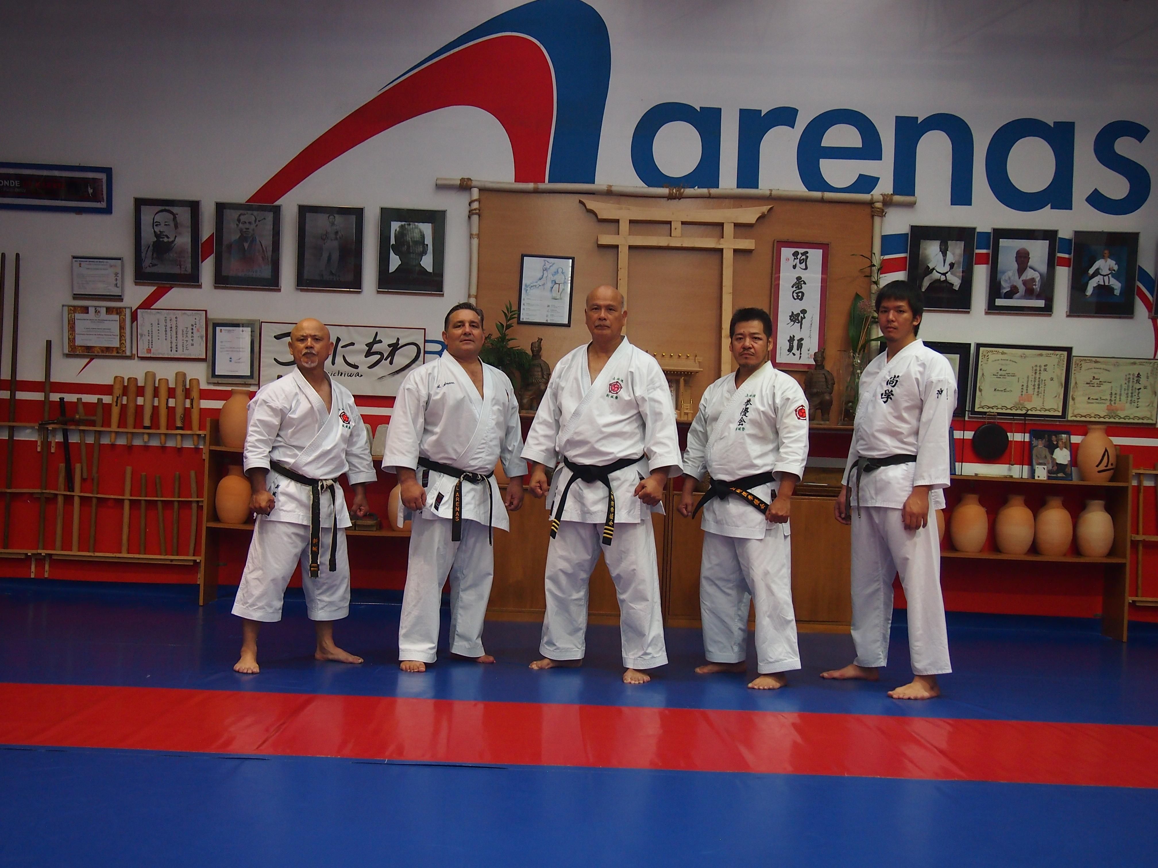 Koshukai de Uechi ryu Karate Do Kenyukai en España