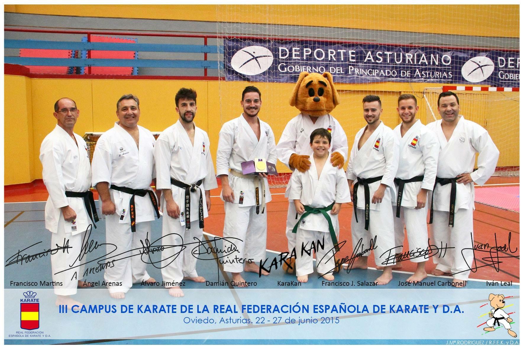 III Campus de la Real federación Española de Karate