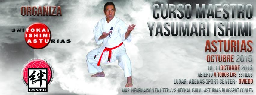 Curso de Karate impartido por Sensei Yasunari Ishimi 10º DAN