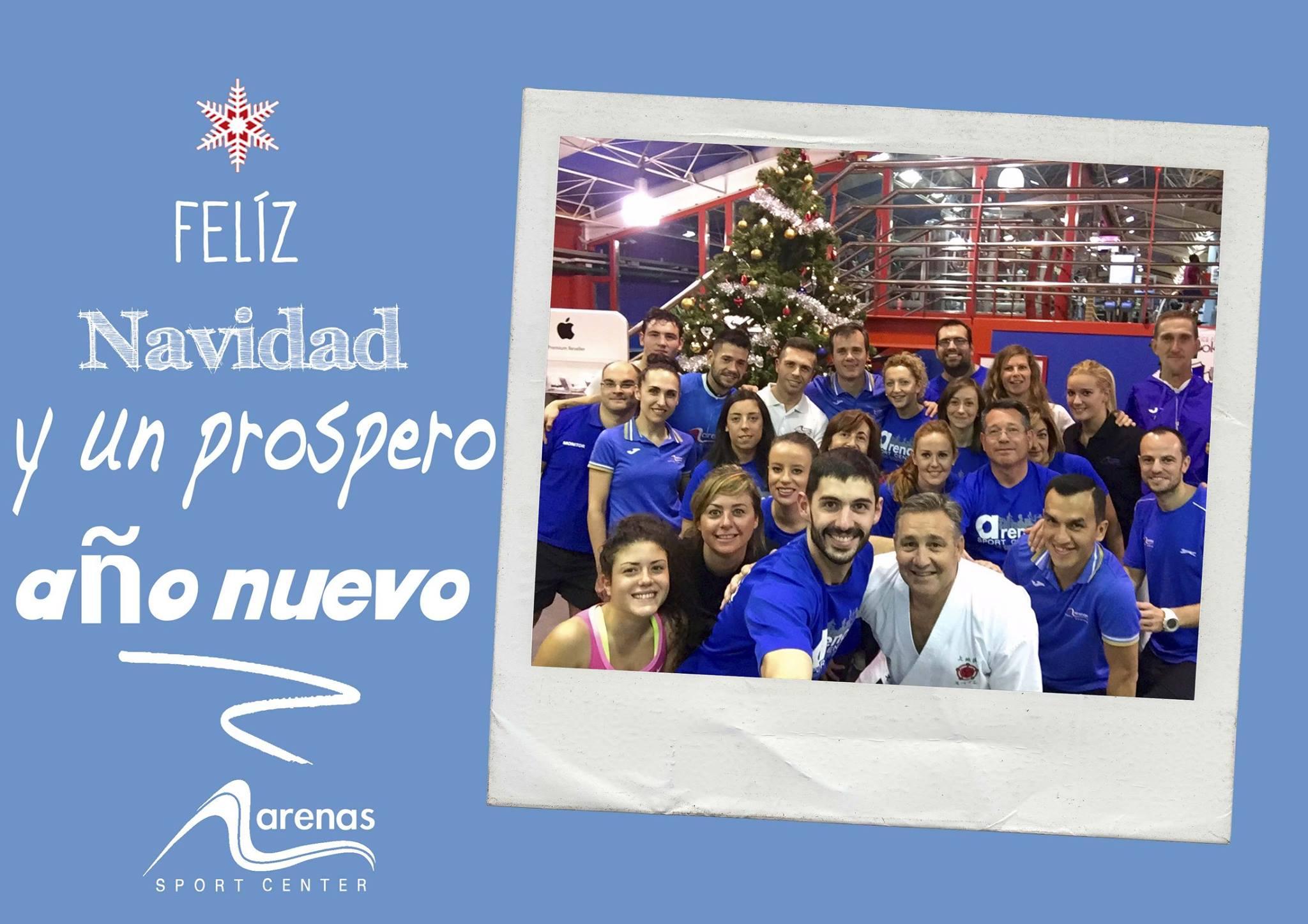 Video Felicitación de Navidad del Arenas