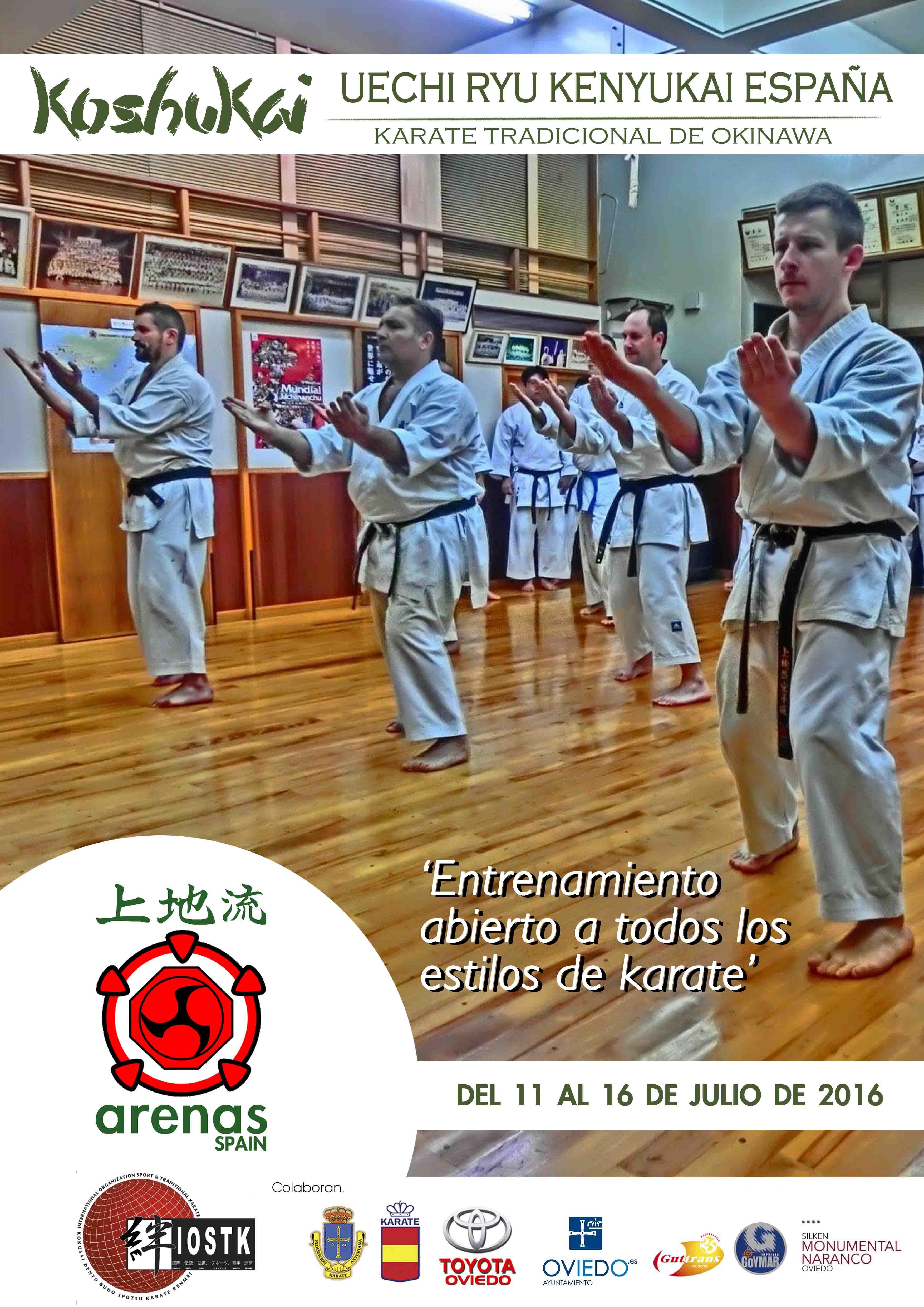 Koshukai de Uechi Ryu Kenyukai – Karate de Okinawa