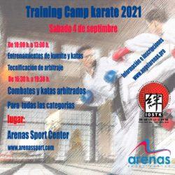Training Camp de Karate 2021