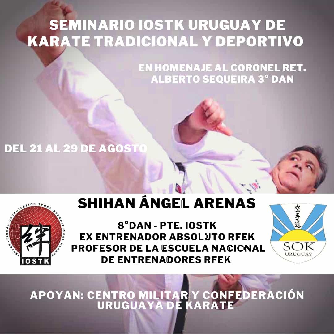 Curso de karate en Uruguay